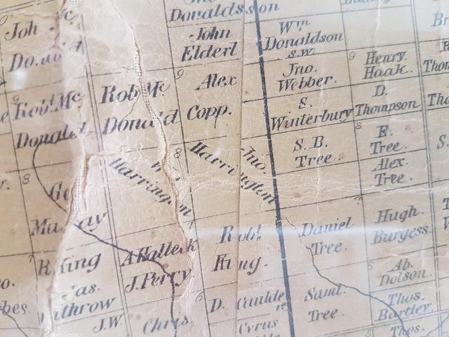 1857 Atlas - Property shown