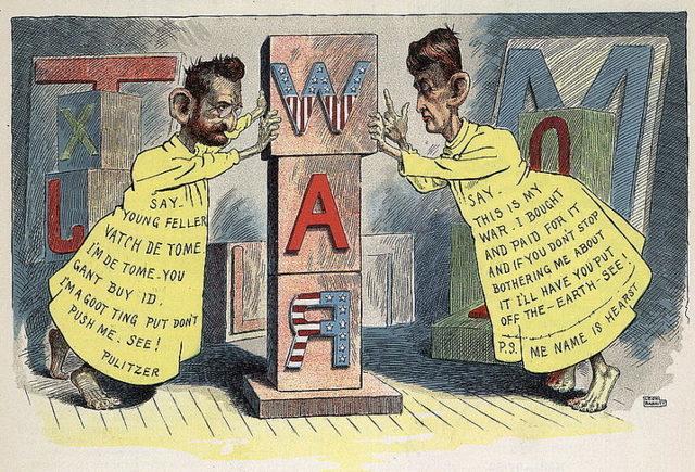 Spanish-American War: Media Involvement