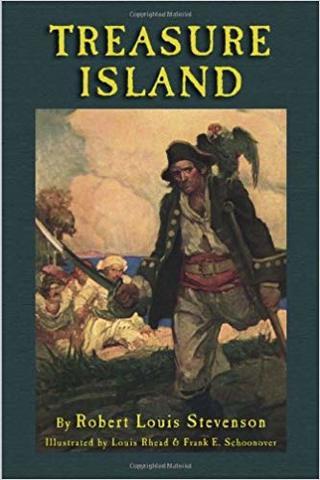 Treasure Island By  Robert Louis Stevenson's ,Long John Silver and Ben Gunn