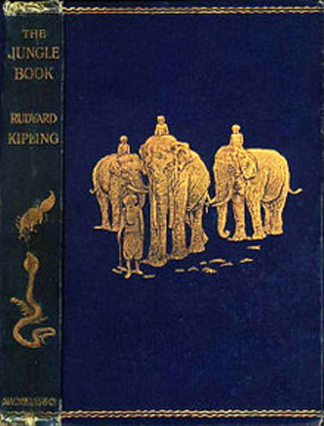 The jungle Book By Rudyard Kipling's