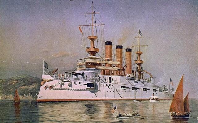 spanish american war part2--> sinking of uss maine