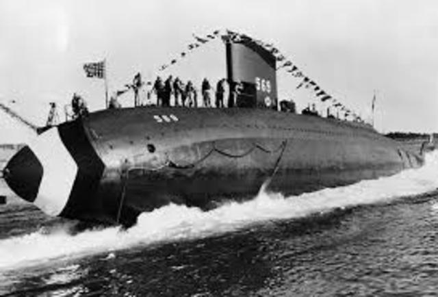 Germany Limits Submarines. ... WWI 8