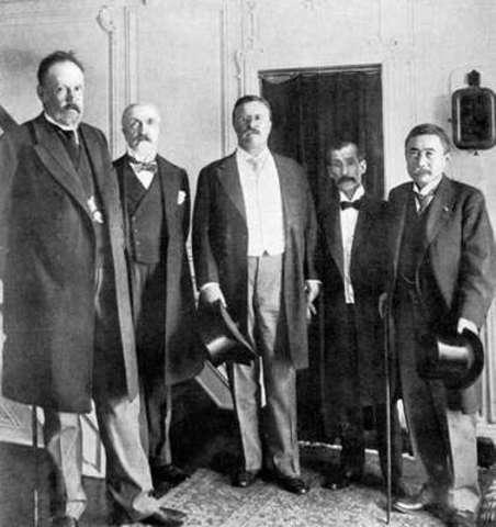 Big Stick Diplomacy (Roosevelt Nobel Peace Prize)
