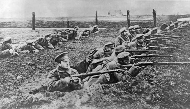 Serbia declares war on Austria-Hungary