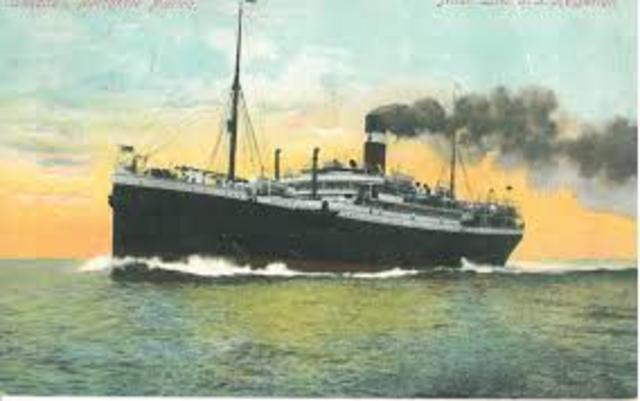 Sinking of the Lusitania, Arabic and Sussex (World War 1)