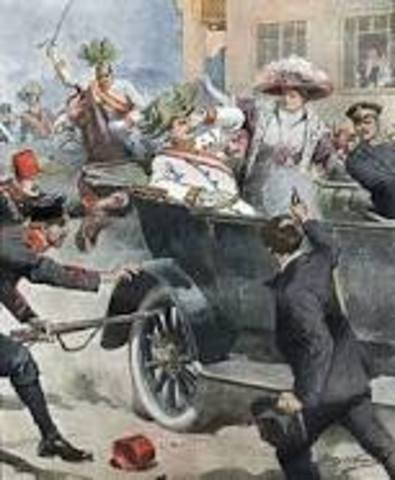 World War One (Assassination of Franz Ferdinand)
