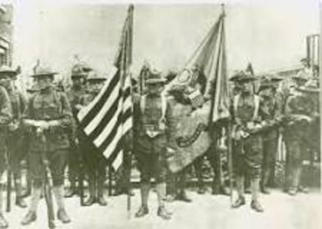 World War One (USA declares war on Germany)