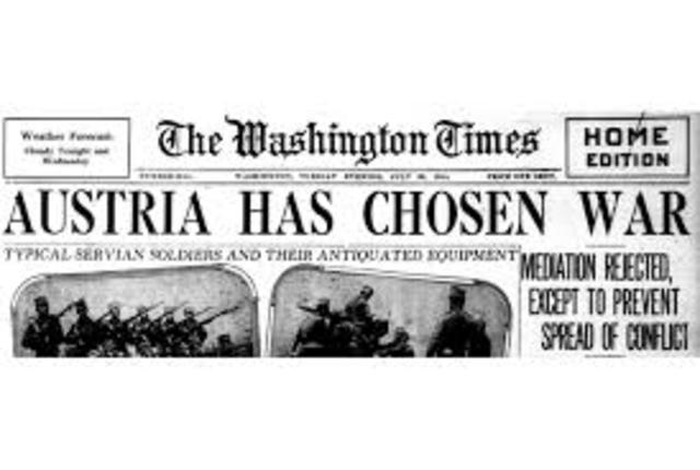 Austria-Hungary Declares War On Siberia