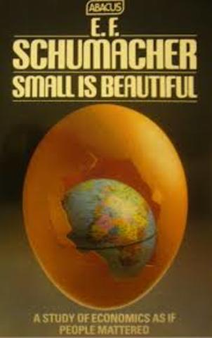 Small is Beautiful By Ernst Friedrich Schumacher