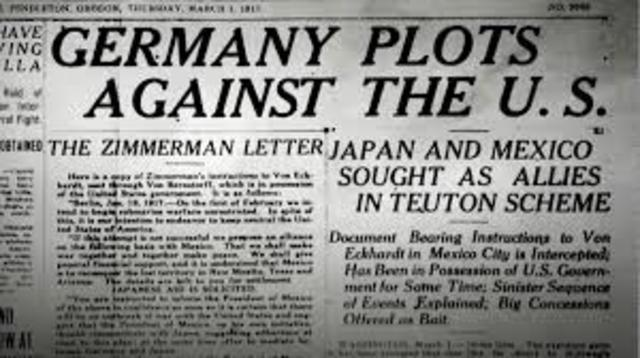 Germany Plots Against the U.S.