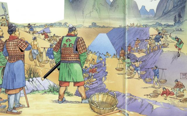 Los imperios guerreros China