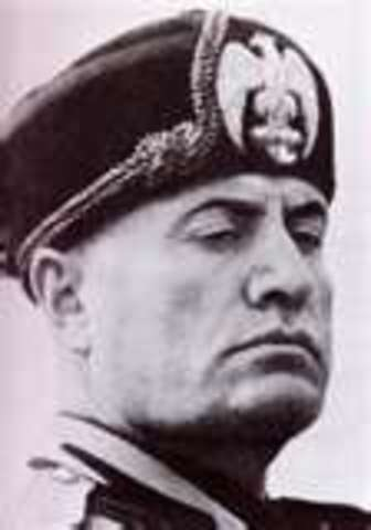 Mussolini Establishes Facist Party in Italy