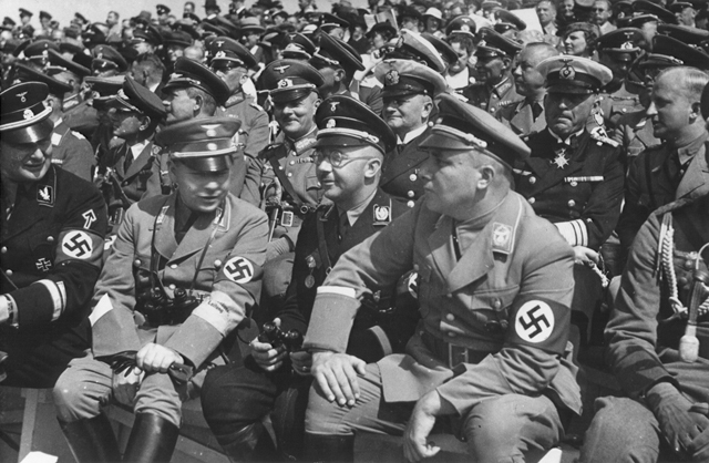 Hitler joind the Nazi party