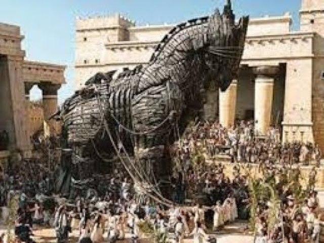 Inicio de la guerra de Troya.