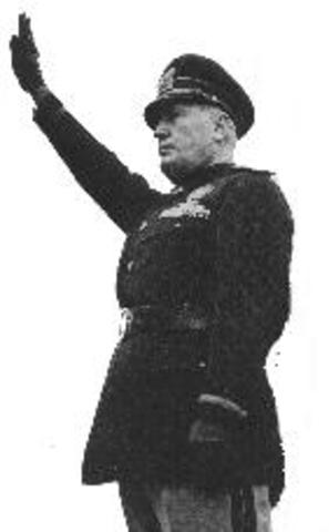 Fascist Party established under Mussolini Italy