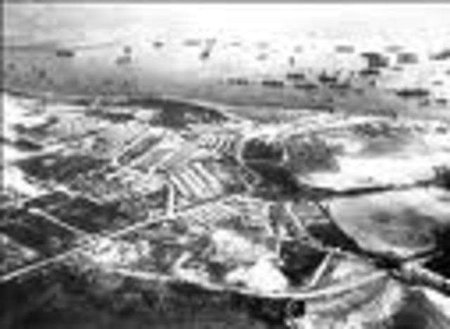 hittler begins military buildup