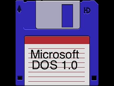 IBM comienza a comercializar equipos con el sistema operativo de Microsoft MS-DOS 1.0
