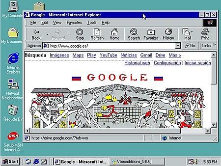 Bienvenido Windows 98