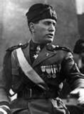 Mussolini Takes Over in Italy