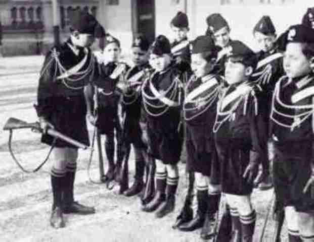 Facist Party established uner Mussolini in italy