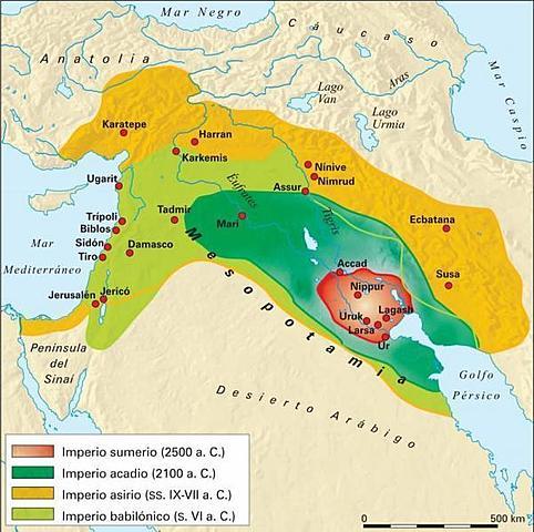 (MESOPOTAMIA)Los primeros Imperios