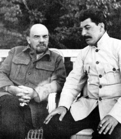 Death of Vladimir Lenin; control of USSR to Joseph Stalin; deaths of 8-13 million Russuians
