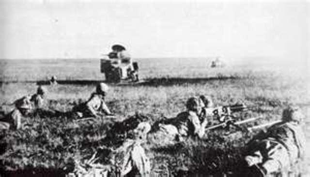 Japs Invasion on Manchuria