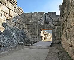 (GRECIA)La Puerta De Los Leones