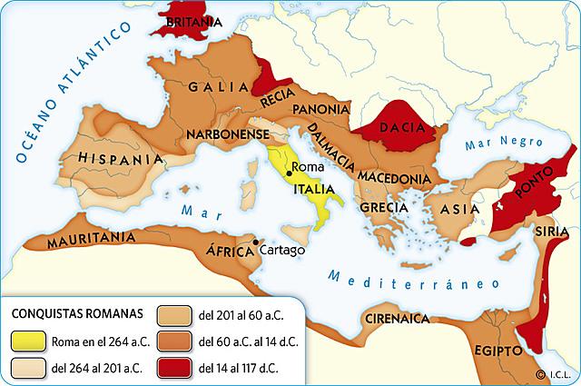 (ROMA)La conquista de La Galia