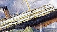 El hundimiento de Lusitania