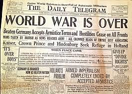 Germany Signed an Armistice