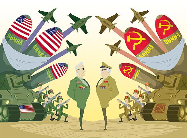 El Desarrollo De La Segunda Guerra Mundial La Guerra Fría Y La Caída