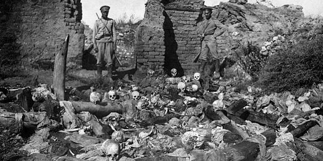 Inician masacres de armenios