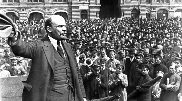 Revolución de octubre en Rusia