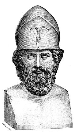 Final de la batalla de Temístocles retoma el mando en Atenas( Guerras Médicas)