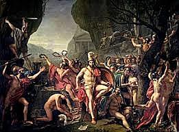 Final Guerras Médicas, Batalla de Termopilas