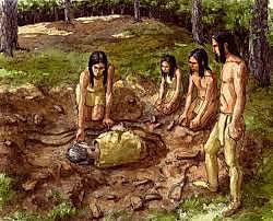Primers enterraments (Homo neanderthalensis)