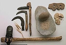 Fabricació d'eines de pedra i descobriment del foc (Homo ergaster)