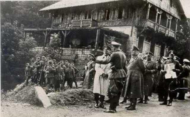 Hitler announces Lebensraum