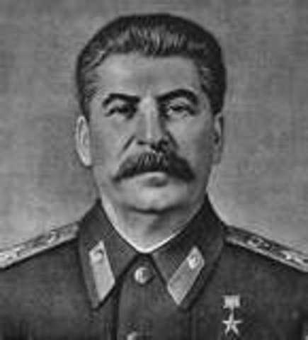 Death of Vladmir Lenin; control of USSR to Joseph Stalin; death of 8- 13 million Russians