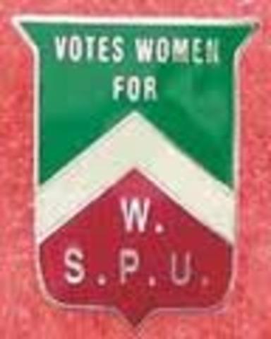 Suffragettes (W.S.P.U)