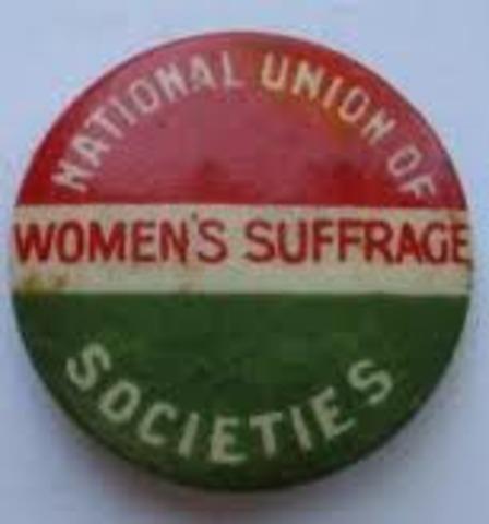Suffragists (N.U.W.S.S)