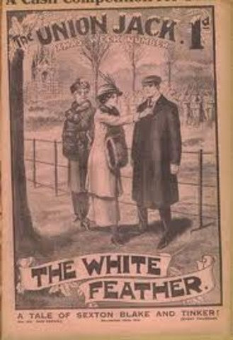 First World War  and the Whit Feather