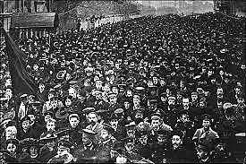 Manifestación de San Petesburgo