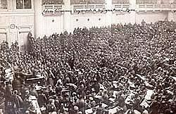 Insurrección popular en Petrogrado
