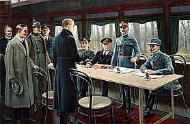 Austria firma el Armisticio