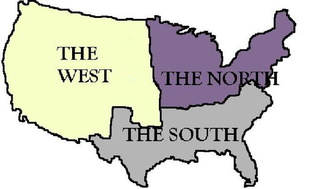 Tensions between states due to Sectionalism