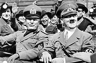 Nazi Germany and Fascists Italy sign a treaty of cooperation