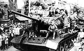 The Soviet Union occupies the Baltic States on June 14–18.