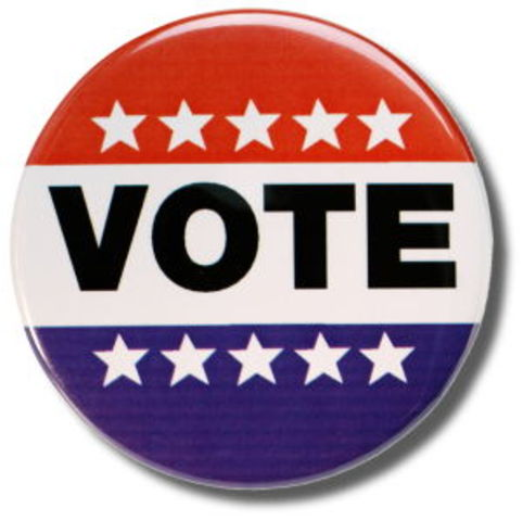 The Fifteenth Amendment to the Constitution is ratified, giving blacks the right to vote.
